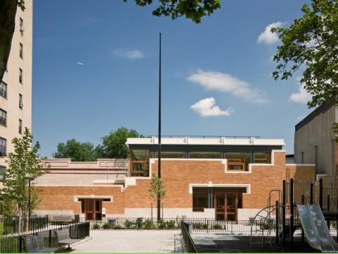 The Saratoga Avenue Community Center in Brooklyn