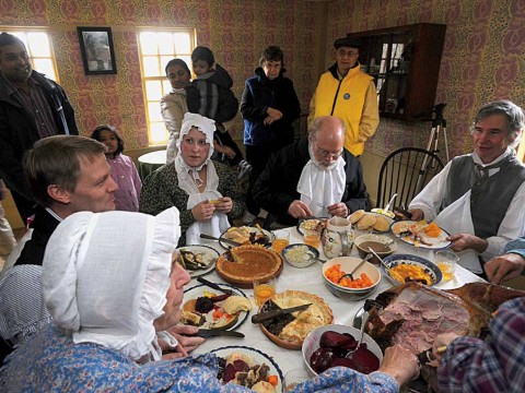 Celebrating Thanksgiving at Old Sturbridge Village