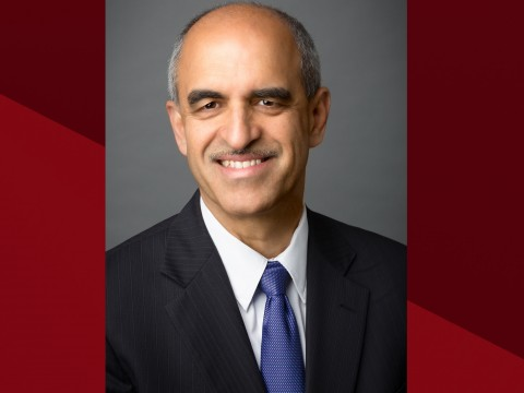 Photo of Srikant M. Datar, dean-designate of Harvard Business School