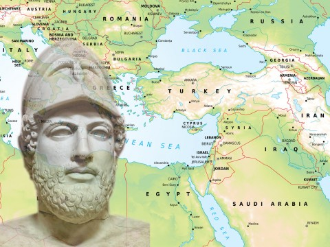 The Athenian statesman Pericles